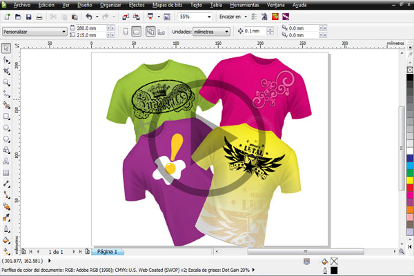 Disenar-Camisetas-Corel-Draw